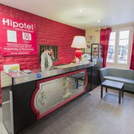 Hipotel Paris Buttes Chaumont Belleville***